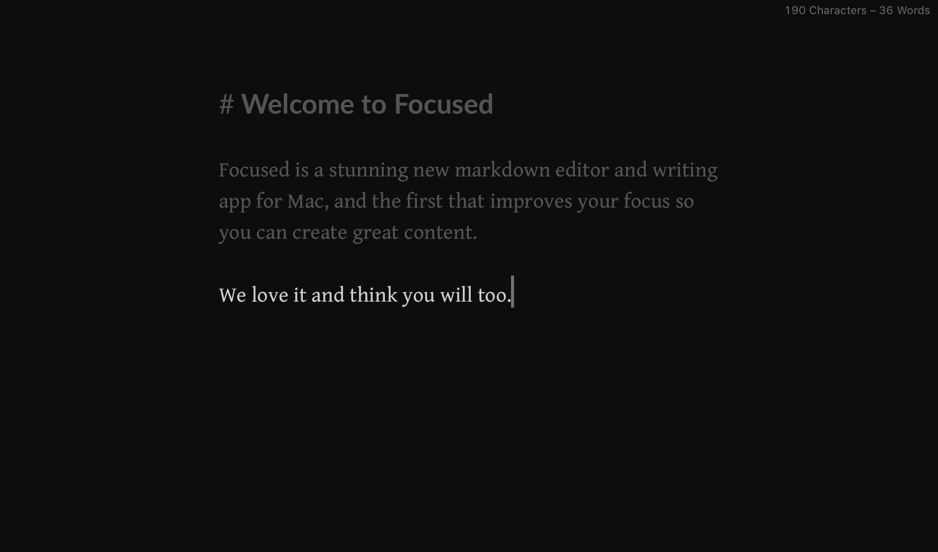 Focused | Codebots